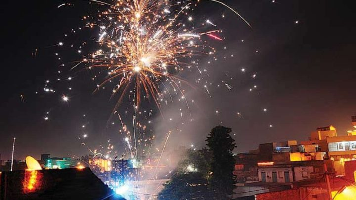 bursting crackers banned