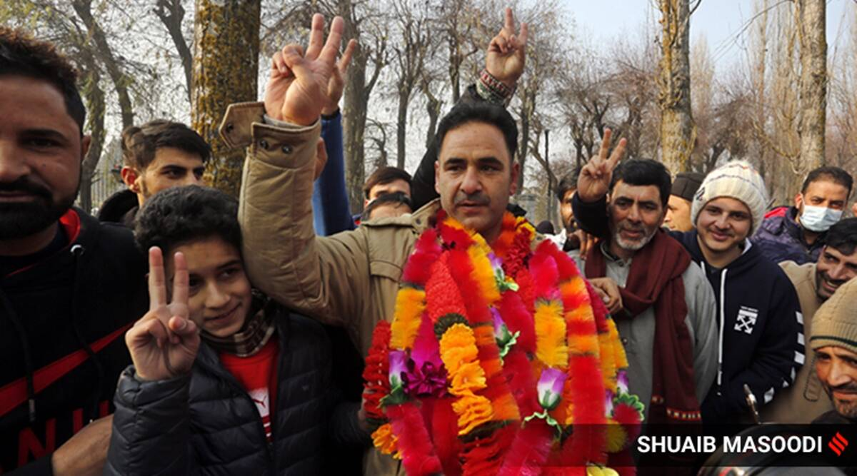 Jammu and Kashmir celebrates it's first election