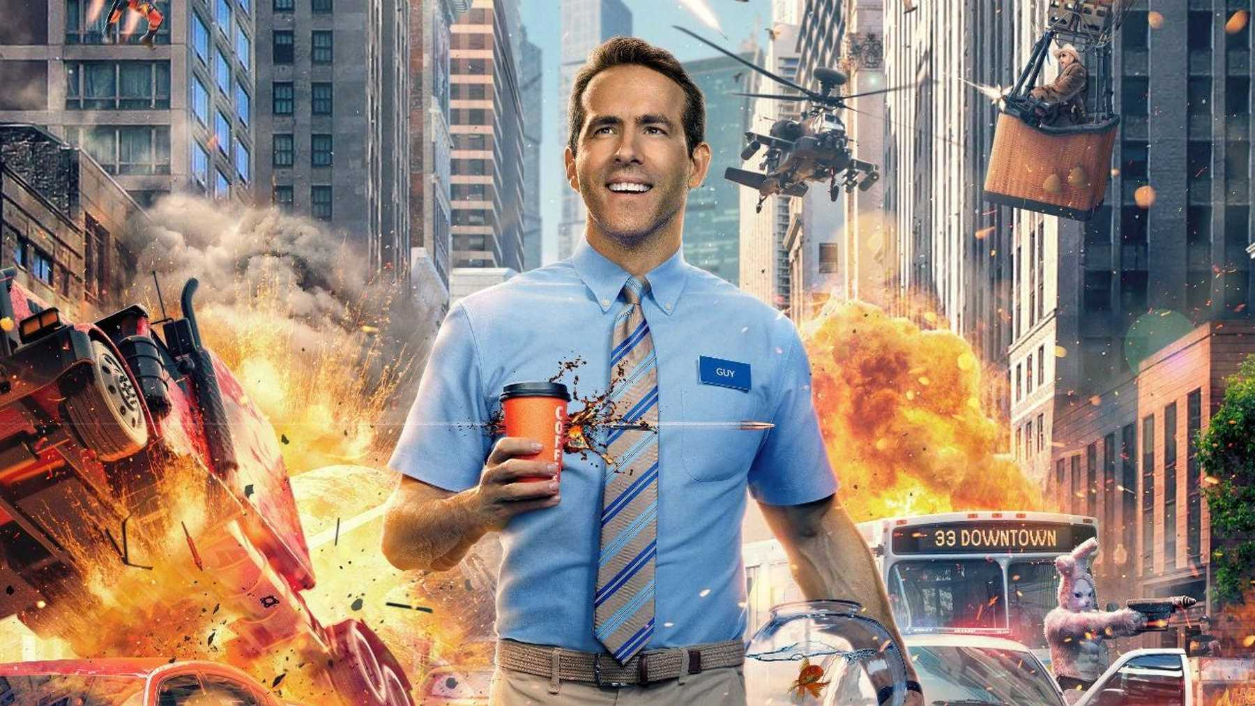 """Ryan Reynolds Is Back With Another Amazing Block Buster """"Free Guy""""- Find Out The Release Date."""