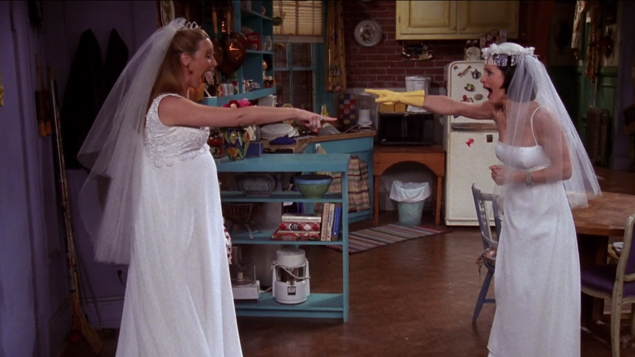 """The One With All The Wedding Dresses"""" (Season 4, Episode 20)"""
